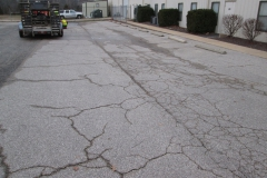 Parking lot prior to any work
