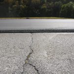 Severe Cracking and rutting on a DOT highway solved with Bonded Asphalt
